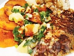 Панирана маслена риба в пшеничен грис със соев сос - снимка на рецептата